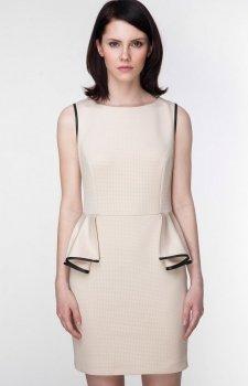 Ambigante ASU0007 sukienka beż
