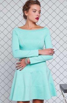 Cover GR993 sukienka miętowa