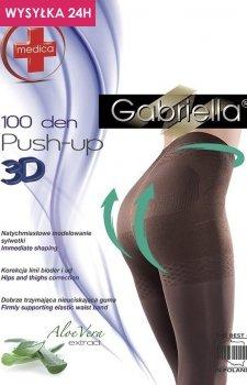 Gabriella Medica Push-up 3D 100 DEN Code 171 rajstopy klasyczne