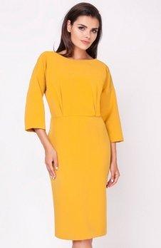 Nommo NA220 sukienka karmelowa