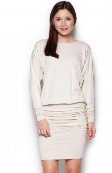 Figl M343 sukienka ecru