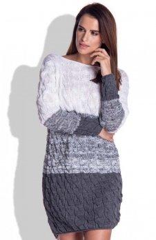 FIMFI I152 sukienka szara