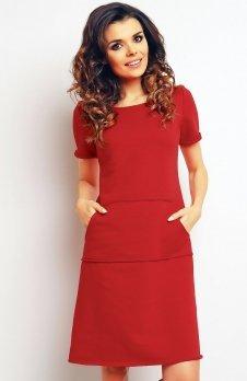 Infinite You M073 sukienka czerwona