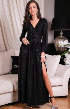 Roco 0227 dłuiga sukienka wieczorowa