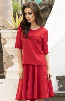 *Lemoniade L237 sukienka czerwona
