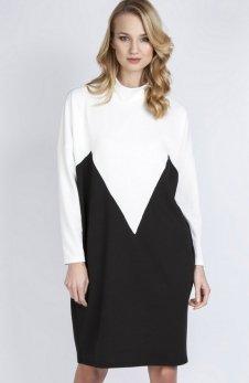 Lanti SUK134 sukienka ecru