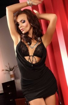 Beauty Night Francesca black komplet