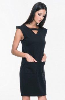 Mosali M026 sukienka czarna