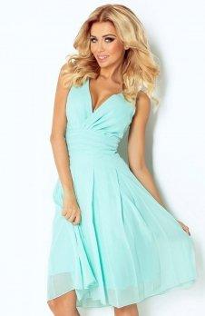 SAF 35-4 sukienka miętowa