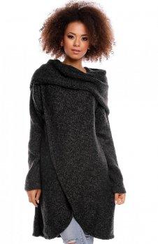 PeekaBoo 30051 sweter czarny