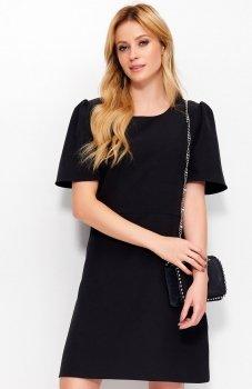 Makadamia M378 sukienka czarna