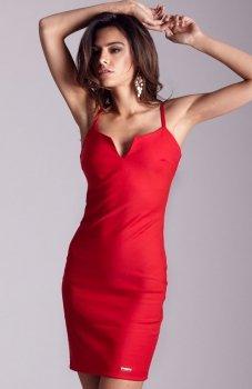*Ivon Cindy sukienka czerwona