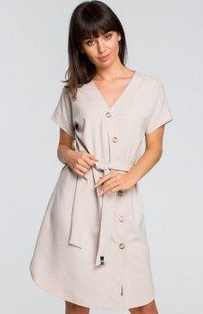 BE B111 sukienka beżowa