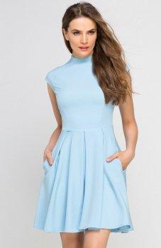Lanti SUK143 sukienka błękitna