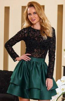 *Roco 0176 sukienka zielona