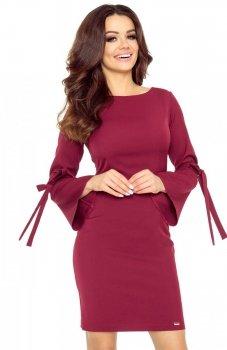 *Bergamo 70-10 sukienka bordowa