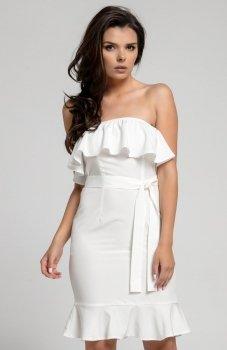 Nommo NA303 sukienka ecru