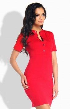 *Lemoniade L191 sukienka czerwona