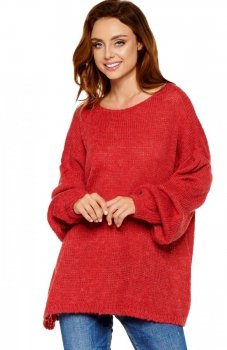 Lemoniade LS216 sweter bordowy