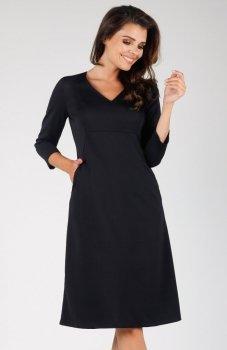 Nommo NA329 sukienka czarna