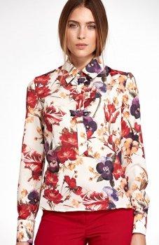 Nife B96KW bluzka w kwiaty