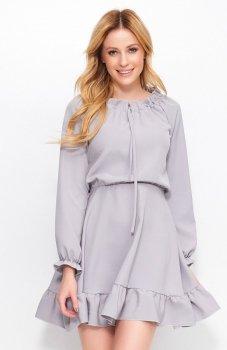 Makadamia M384 sukienka szara