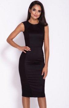 Ołówkowa sukienka Lara czarna