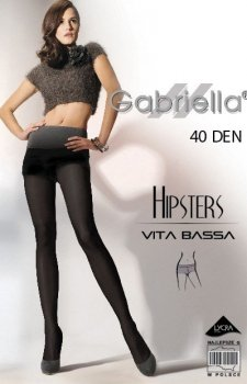 *Gabriella Hipsters 40 Den Code 115 rajstopy