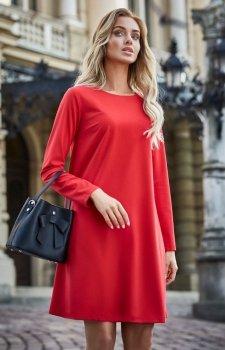 Style S137 sukienka czerwona