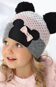AJS 36-362 czapka dla dziewczynki