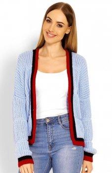 PeekaBoo 60004 sweter błękitny