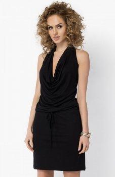 Makadamia 023 sukienka czarna