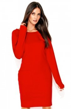 *Numinou NU135 sukienka czerwona