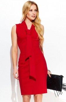 Makadamia M415 sukienka czerwona