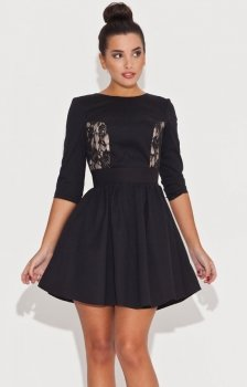 *Katrus K068 sukienka czarna
