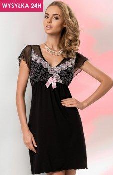 *Donna Erika koszulka czarno-różowa