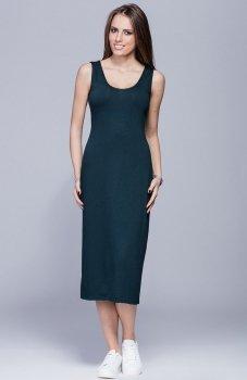 Harmony H026 sukienka zielona