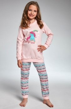 Cornette Kids Girl 594/91 Magic Time piżama