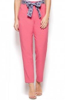 Katrus K430 spodnie różowe