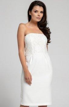 Nommo NA310 sukienka ecru