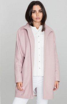 *Figl M589 płaszcz różowy