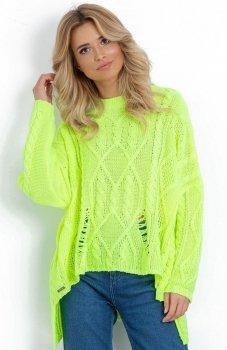 Fobya F625 sweter zielony