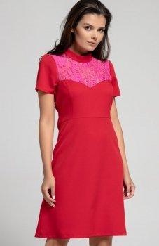 Nommo NA306 sukienka czerwona