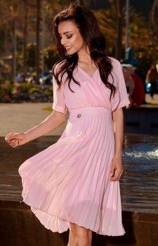 Lemoniade L255 sukienka pudrowy róż