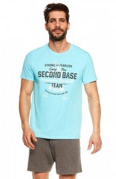 Henderson Join 36823-50X piżama niebiesko-szara