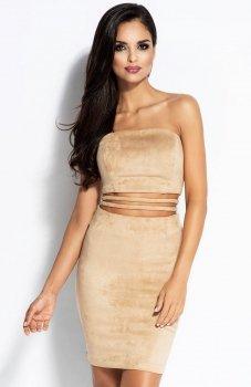 Dursi Sue sukienka beżowa