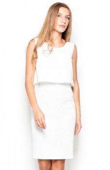 Katrus K388 sukienka ecru