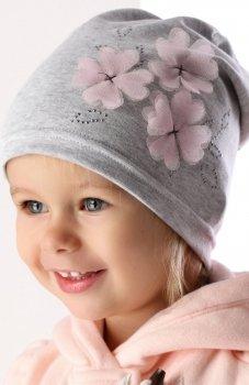 AJS 36-021 czapka dla dziewczynki