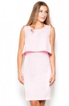 Katrus K388 sukienka różowa