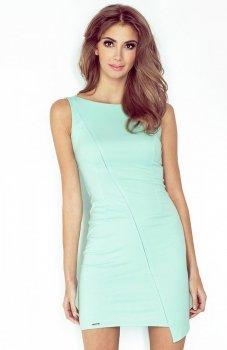 Morimia 004-3 sukienka miętowa